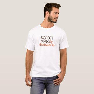 Bigfoot Is Real Funny Shirt