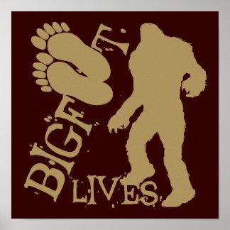 Bigfoot Lives Print
