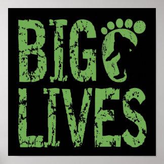 Bigfoot Lives Posters