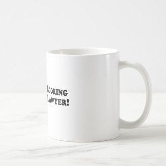 Bigfoot Looking for Good Lawyer - Basic Coffee Mug