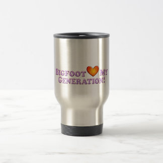 Bigfoot Loves My Generation - Basic Travel Mug