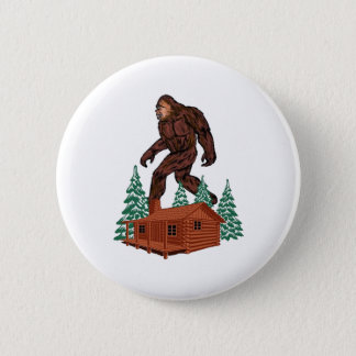 Bigfoot Paradise 2 Inch Round Button