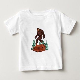 Bigfoot Paradise Baby T-Shirt