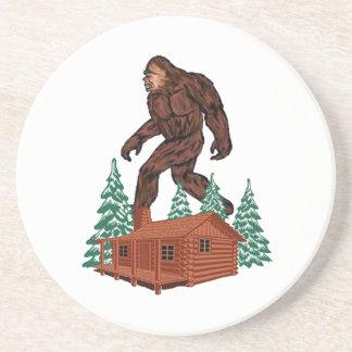 Bigfoot Paradise Beverage Coasters