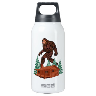 Bigfoot Paradise Insulated Water Bottle