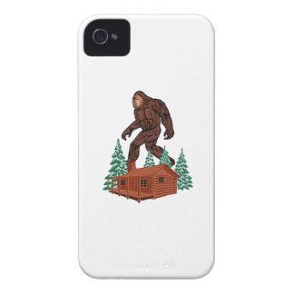 Bigfoot Paradise iPhone 4 Case