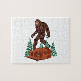 Bigfoot Paradise Jigsaw Puzzle