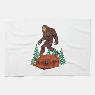Bigfoot Paradise Kitchen Towel