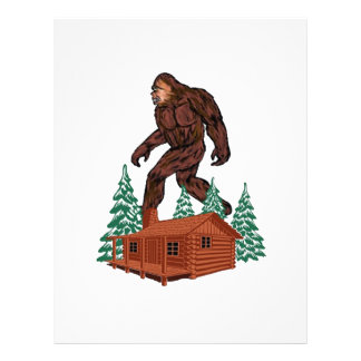 Bigfoot Paradise Letterhead