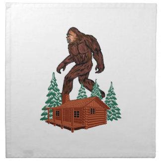 Bigfoot Paradise Napkin