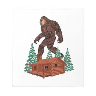 Bigfoot Paradise Notepad