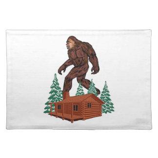 Bigfoot Paradise Placemat