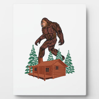 Bigfoot Paradise Plaque