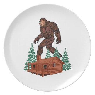 Bigfoot Paradise Plate