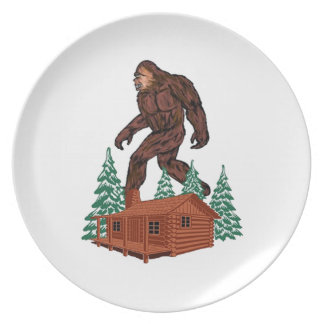 Bigfoot Paradise Plates
