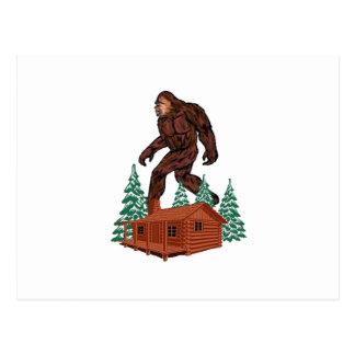 Bigfoot Paradise Postcard