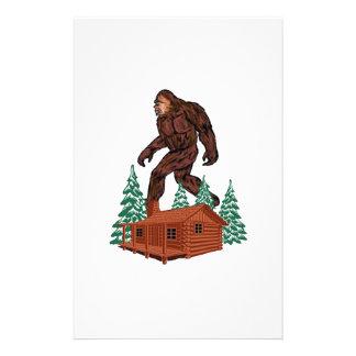 Bigfoot Paradise Stationery