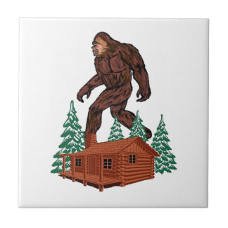 Bigfoot Paradise Tile