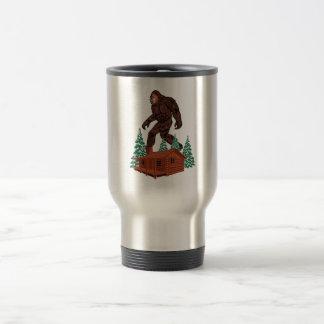 Bigfoot Paradise Travel Mug