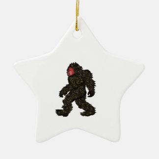 Bigfoot Pines Ceramic Ornament