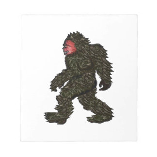 Bigfoot Pines Notepad