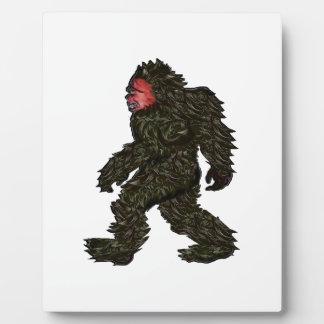 Bigfoot Pines Plaque