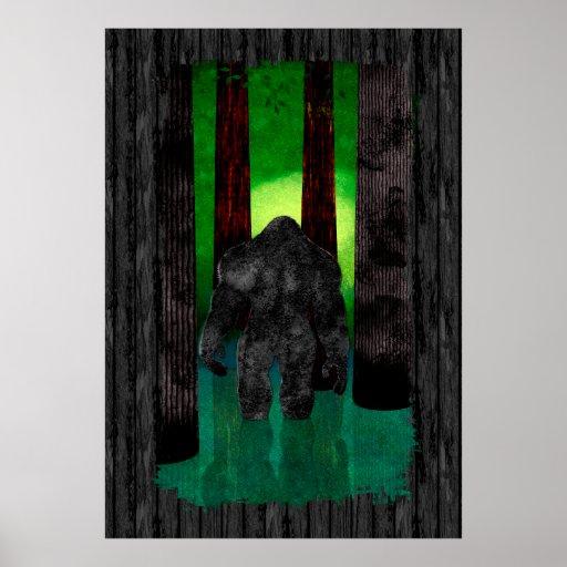 Bigfoot Posters