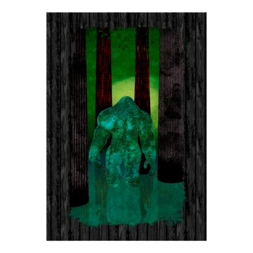 Bigfoot Print