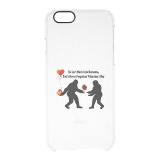 Bigfoot Remembers Valentine's Day Clear iPhone 6/6S Case