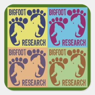 Bigfoot Research Square Sticker