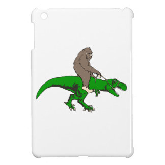 Bigfoot riding T Rex iPad Mini Cover