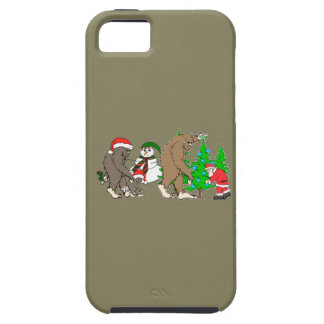 Bigfoot Santa snowman Case For The iPhone 5