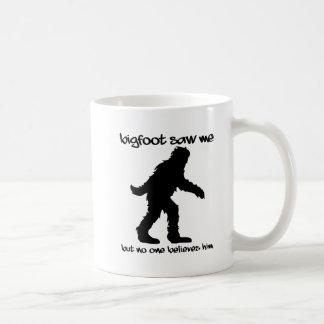 Bigfoot Saw Me Funny Mug