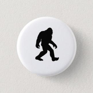 Bigfoot Silhouette 1 Inch Round Button