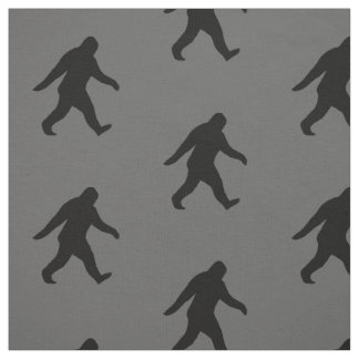 Bigfoot Silhouettes Pattern Fabric