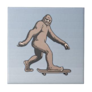 Bigfoot Skateboard Tile