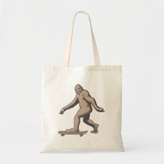 Bigfoot Skateboard Tote Bag