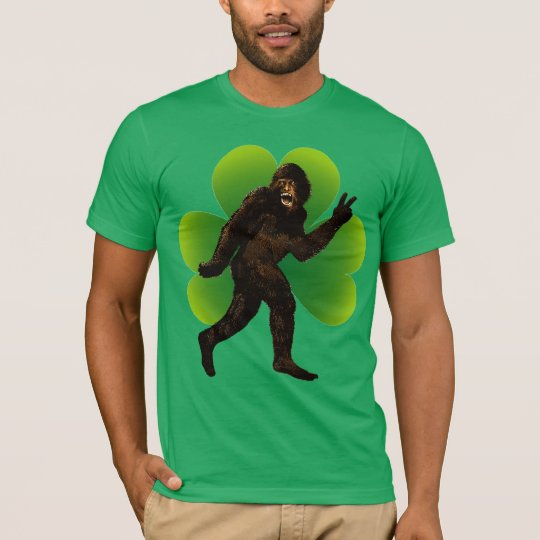 Bigfoot St. Patrick's Day T-Shirt