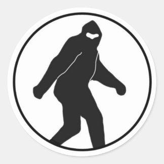 Bigfoot Sticker (round) Classic