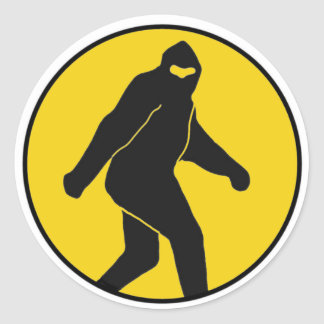 Bigfoot Sticker (Yellow)