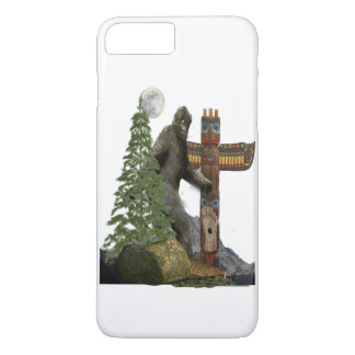 Bigfoot t-shirts Case-Mate iPhone case