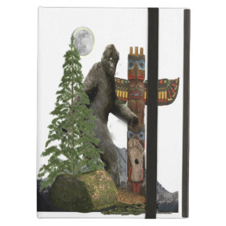 Bigfoot t-shirts iPad air case
