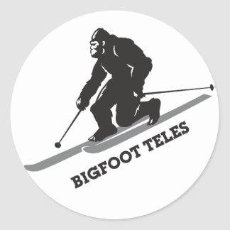 Bigfoot Teles Sticker