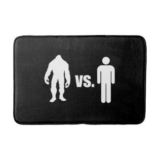 Bigfoot VS Human Bath Mat