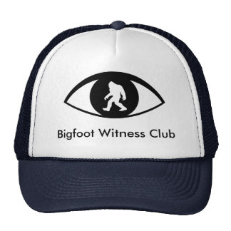 Bigfoot Witness Club Hat
