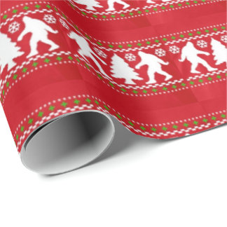 Bigfoot Wrapping Paper