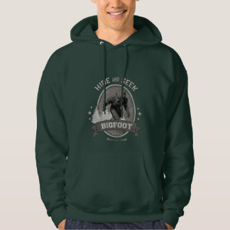 Bigfoot Yeti. Sasquatch. Retro, Vintage. Hoodie