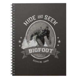 Bigfoot Yeti. Sasquatch. Retro, Vintage. Notebook
