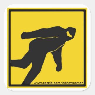Bigfoot Yield Sticker