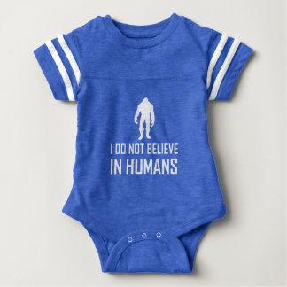 Bigfoots Do Not Believe In Humans Baby Bodysuit